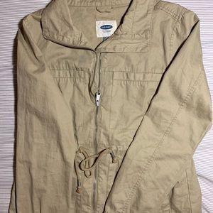 Old Navy tan utility jacket